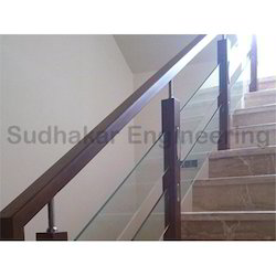 Panel Modern Wooden Staircase