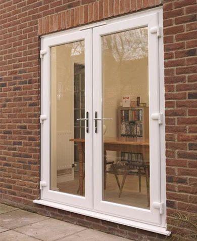 Upvc French Door At Rs 450 Square Feet Upvc Door Glemtech Plast