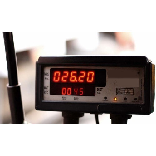 Taxi Fare Meter at Rs 1500/piece | Taxi Meters | ID: 13091105148