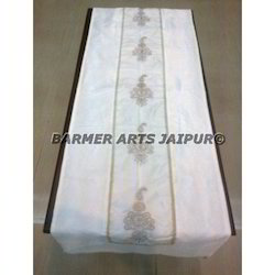 Silk Embroidery Bed Runner
