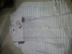 White ; Black ; Dark Blue Cotton Babla Shirts 8-16 Size