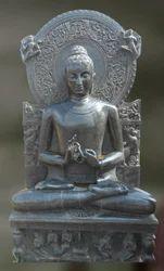 Lord Buddha-dharma Sandstone Sculpture