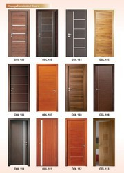 Omega Decorative Laminated Flush Door