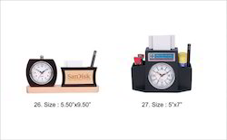 Table Clock & Pen Stand