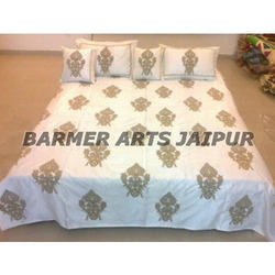 Stylish Silk Boota Bed Cover