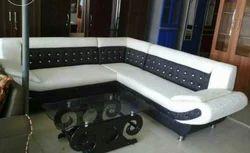 Shah L Sofa Set - Corner Wooden, For Multipurpose