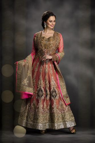 Elegant Indo Western Dress - View Specifications & Details of Bridal ...