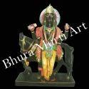 Black Marble Shukra Graha Statue