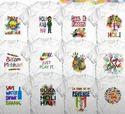 T-shirt  For Holi Unisex