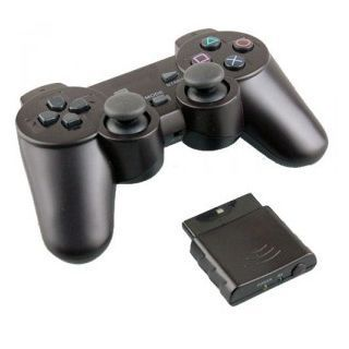 2. 4ghz wireless gamepad joystick controller for ps2 sony.