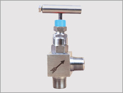 Screwed Bonnet Design Angle Needle Valves