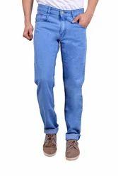 Mens Lycra Plain Jeans