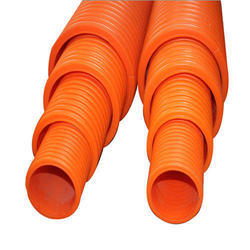 12m Orange Double Wall Corrugated Duct Pipe