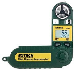 Mini Thermo-Anemometer With Humidity