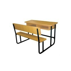 2 Seater School Benches And Desks