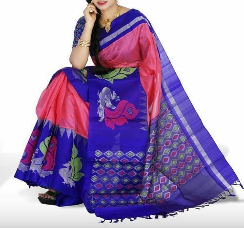 f844f9ed5a Pink Cotton Kuppadam Pattu Silk Sarees, Rs 4900 /piece, Sivasri ...
