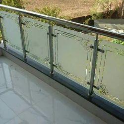 Steel balcony railing 304