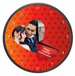 Wedding Wall Clock