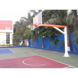 Basketball Pole 6