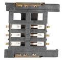 6 Pin Half Cover Micro Sim Card Holder