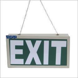 LED Exit Sign Board