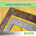 Corrosion Inhibitor for Citric Acid