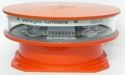 RED LED Medium Intensity Obstruction Warning Lights, IP Rating: IP65