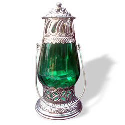 Designer Glass Lantern