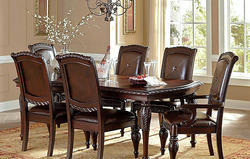 Fancy Wooden Dining Table Set