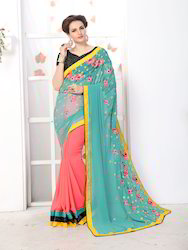 Glam Land Embroided Saree