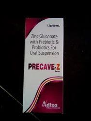 Precave Z Prebiotic & Probiotics & Zinc Gluconate
