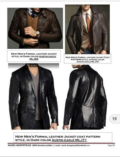 b5eb960fbcc1 Got And Sheep Leqther Used Mens Leather Jacket 100% Genuine. mark as  favourite