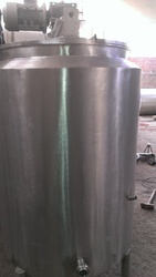 VED ENGINEERING Electrically Heated Tank, Capacity: 500-1000 L