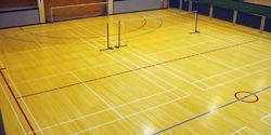 Asian Flooring Indoor Badminton Teak Wood Flooring