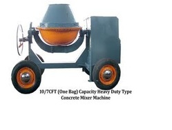 Concrete Mixer with Engine Type