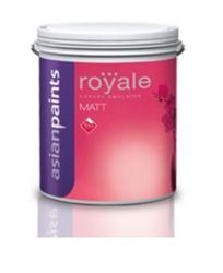 Asian Paints Royale Matt Interior Paint Broken White