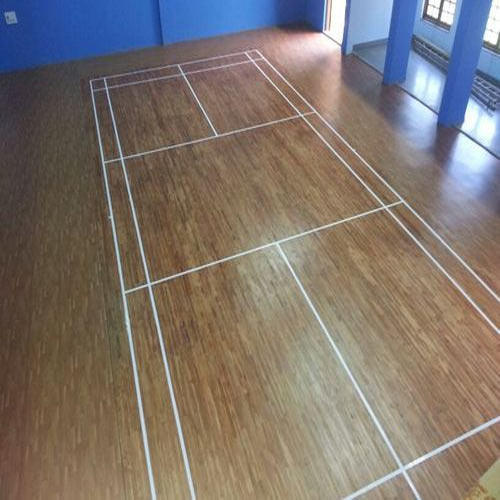 Sports Flooring Systems Qld Pty Ltd: Asian Flooring Indoor Badminton Court Wooden Flooring, Rs
