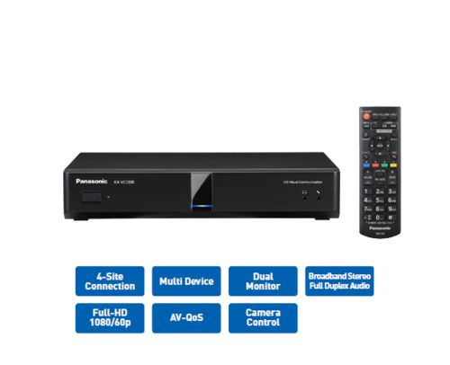 Video Conferencing Systems - Panasonic KX-VC 1300 Video