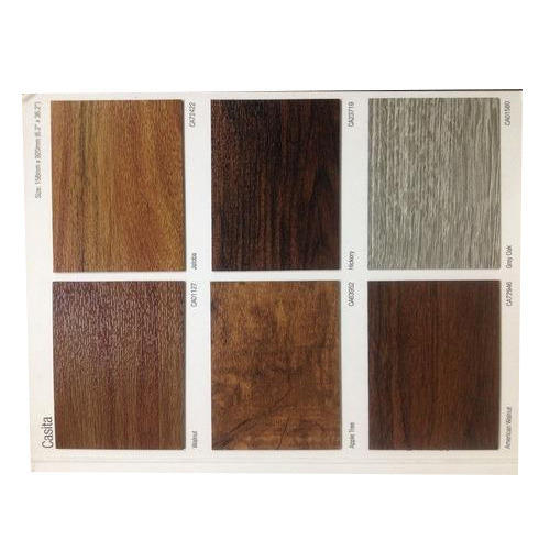 Pvc Plank Brown Armstrong Vinyl Thickness 1 5mm Rs 45