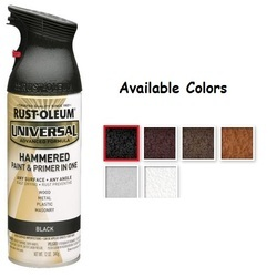 Rust Oleum Universal Hammered Spray Paint