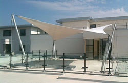 Entrance Tensile Structures