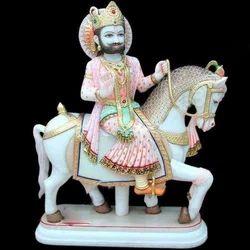 Baba Ramdev Marble Statue