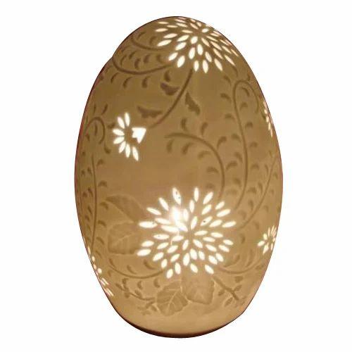 Egg Shaped Lamp