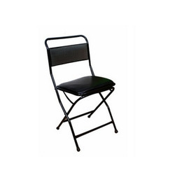 Low Back Cushion Folding Chair