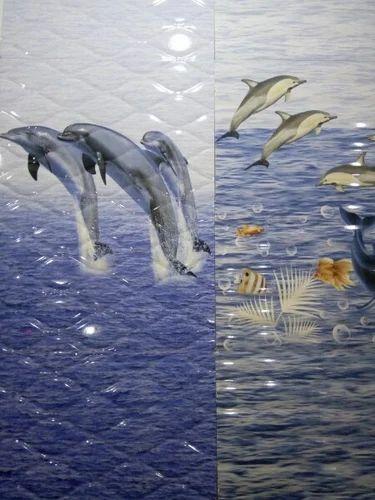 Dolphin Bathroom Tiles Fish Design