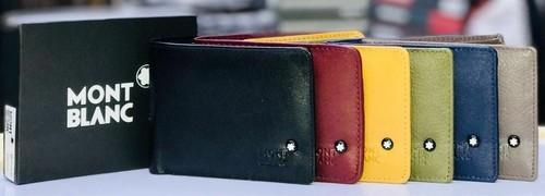 1b753d06b770f Mont Blanc Leather Wallet Multicolor Montblanc Wallet, Rs 499 /piece ...