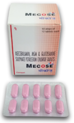 Mecose (Mecobalamin,MSM,Glucosamine Sulphate & Potassium Chloride Tablets)
