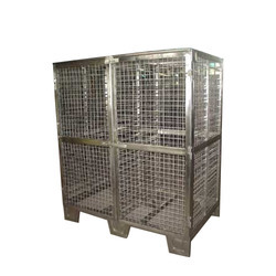 Stainless Steel Cage Trolleys