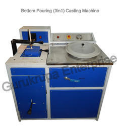 Bottom Pouring Jewellery Casting Machine