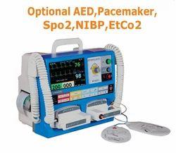 Bi Phasic Defibrillator With Aed
